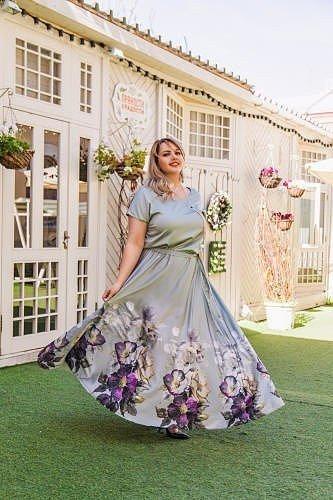 красивые платья на полненькую девушку